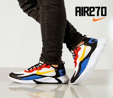 کفش مردانه Nike مدل Air270(زرد،قرمز)